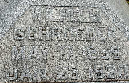 SCHROEDER, WILHELM - Ida County, Iowa   WILHELM SCHROEDER