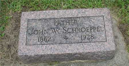 SCHROEPPEL, JOHN W. - Ida County, Iowa | JOHN W. SCHROEPPEL