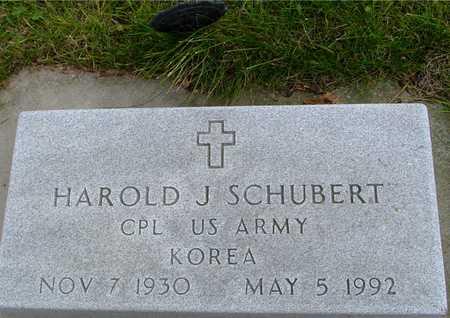 SCHUBERT, HAROLD J. - Ida County, Iowa   HAROLD J. SCHUBERT