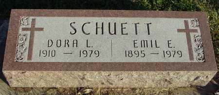 SCHUETT, EMIL & DORA L. - Ida County, Iowa | EMIL & DORA L. SCHUETT