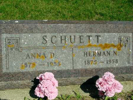 SCHUETT, HERMAN & ANNA - Ida County, Iowa   HERMAN & ANNA SCHUETT