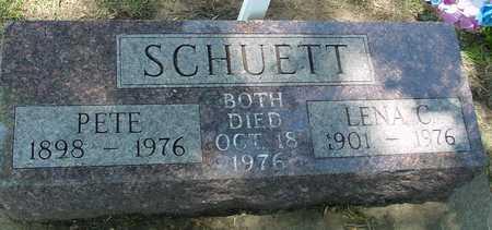 SCHUETT, PETE & LENA - Ida County, Iowa | PETE & LENA SCHUETT