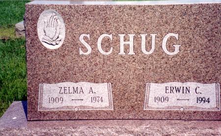 SCHUG, ERWIN & ZELMA - Ida County, Iowa | ERWIN & ZELMA SCHUG