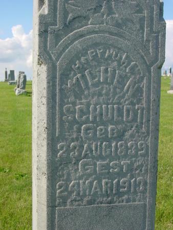 SCHULDT, WILHEN - Ida County, Iowa   WILHEN SCHULDT