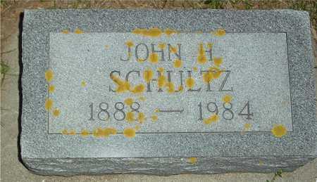 SCHULTZ, JOHN H. - Ida County, Iowa   JOHN H. SCHULTZ