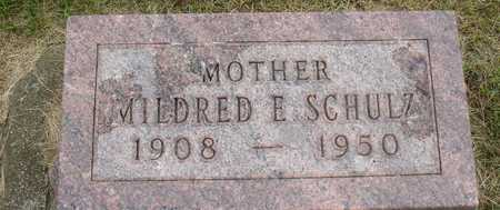 SCHULZ, MILDRED E. - Ida County, Iowa | MILDRED E. SCHULZ