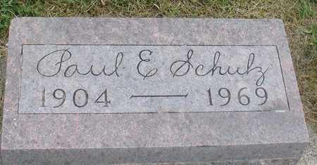 SCHULZ, PAUL E. - Ida County, Iowa   PAUL E. SCHULZ
