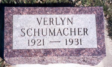 SCHUMACHER, VERLYN - Ida County, Iowa | VERLYN SCHUMACHER