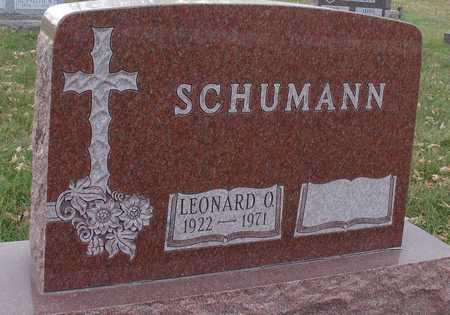 SCHUMANN, LEONARD O. - Ida County, Iowa | LEONARD O. SCHUMANN
