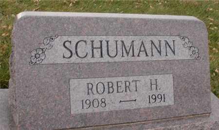 SCHUMANN, ROBERT H. - Ida County, Iowa   ROBERT H. SCHUMANN