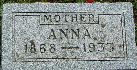 SCHWENK, ANNA - Ida County, Iowa   ANNA SCHWENK