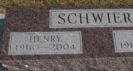 SCHWIER, HENRY - Ida County, Iowa | HENRY SCHWIER