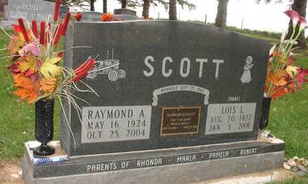 SCOTT, RAYMOND A. & LOIS L. - Ida County, Iowa   RAYMOND A. & LOIS L. SCOTT