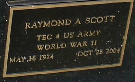 SCOTT, RAYMOND A. - Ida County, Iowa   RAYMOND A. SCOTT