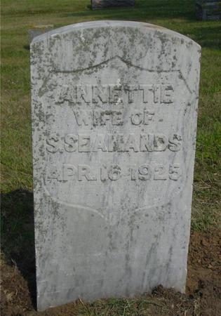 SEAMANDS, ANNETTIE - Ida County, Iowa | ANNETTIE SEAMANDS