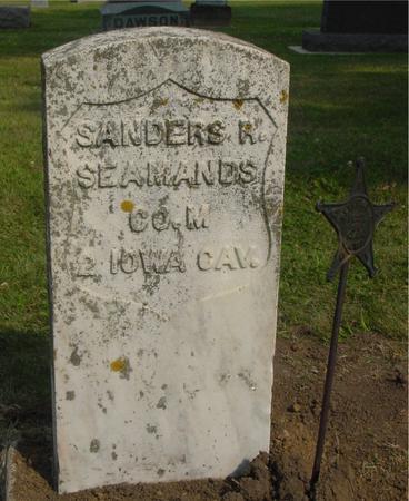 SEAMANDS, SANDERS R. - Ida County, Iowa | SANDERS R. SEAMANDS