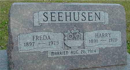 SEEHUSEN, HARRY & FREDA - Ida County, Iowa   HARRY & FREDA SEEHUSEN
