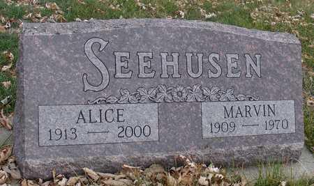 SEEHUSEN, MARVIN & ALICE - Ida County, Iowa | MARVIN & ALICE SEEHUSEN