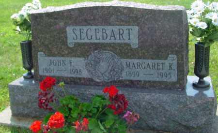 SEGEBART, JOHN & MARGARET - Ida County, Iowa | JOHN & MARGARET SEGEBART