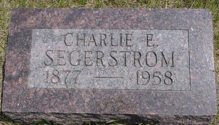SEGERSTROM, CHARLIE - Ida County, Iowa | CHARLIE SEGERSTROM