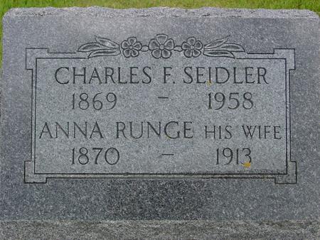 SEIDLER, CHARLES - Ida County, Iowa | CHARLES SEIDLER