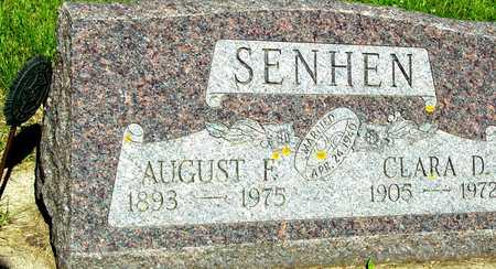 SENHEN, AUGUST & CLARA - Ida County, Iowa | AUGUST & CLARA SENHEN