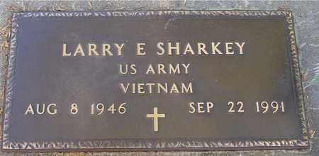 SHARKEY, LARRY E. - Ida County, Iowa   LARRY E. SHARKEY