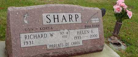 SHARP, RICHARD & HELEN - Ida County, Iowa   RICHARD & HELEN SHARP