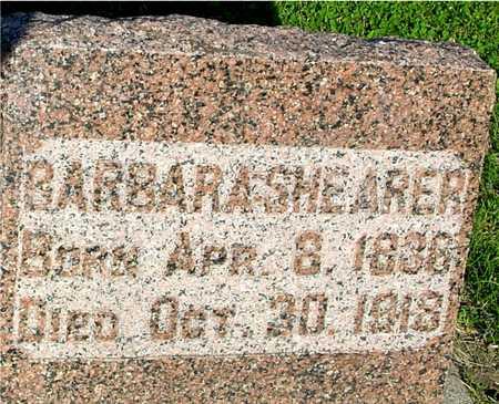 REED SHEARER, BARBARA ANN - Ida County, Iowa | BARBARA ANN REED SHEARER