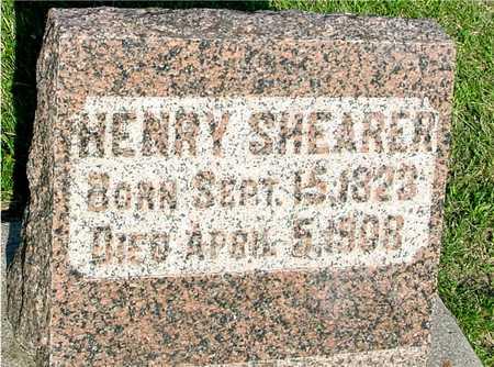 SHEARER, HENRY - Ida County, Iowa | HENRY SHEARER