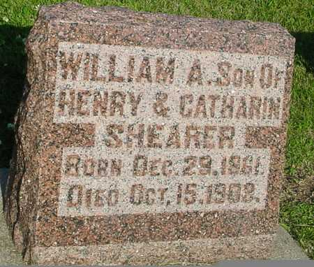 SHEARER, WILLIAM A. - Ida County, Iowa | WILLIAM A. SHEARER