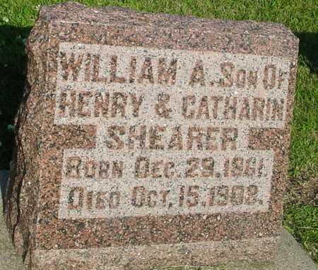 SHEARER, WILLIAM A. - Ida County, Iowa | WILLIAM A. SHEARER