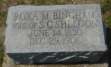 SHELDON, ROXA  M. - Ida County, Iowa   ROXA  M. SHELDON
