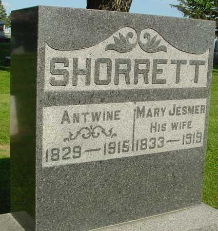 SHORRETT, ANTWINE & MARY - Ida County, Iowa   ANTWINE & MARY SHORRETT
