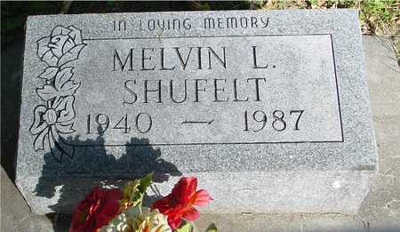 SHUFELT, MELVIN - Ida County, Iowa   MELVIN SHUFELT