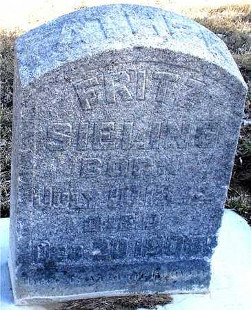 SIELING, FRITZ - Ida County, Iowa | FRITZ SIELING