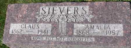 SIEVERS, CLAUS & AMALIA - Ida County, Iowa | CLAUS & AMALIA SIEVERS