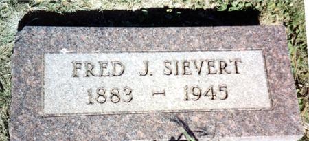 SIEVERT, FRED J. - Ida County, Iowa   FRED J. SIEVERT