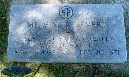 SIEVERT, MELVIN J. - Ida County, Iowa | MELVIN J. SIEVERT