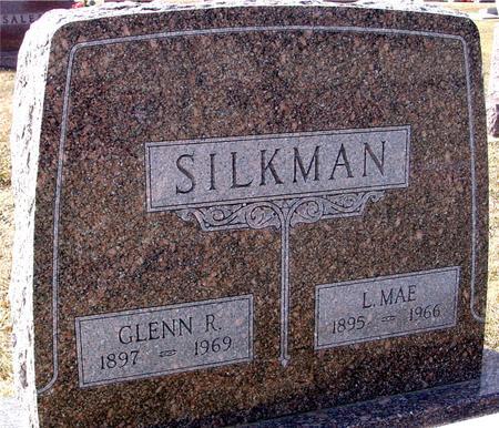 SILKMAN, GLENN R. & L. MAE - Ida County, Iowa | GLENN R. & L. MAE SILKMAN