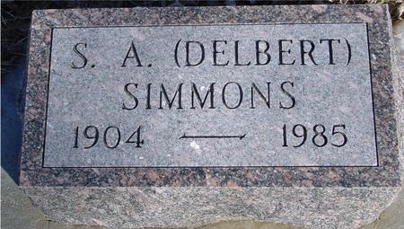 SIMMONS, S. A. (DELBERT) - Ida County, Iowa | S. A. (DELBERT) SIMMONS