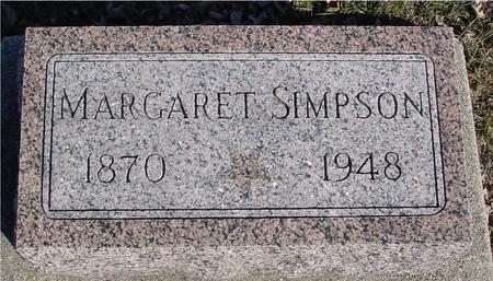 SIMPSON, MARGARET - Ida County, Iowa | MARGARET SIMPSON