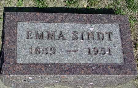 SINDT, EMMA - Ida County, Iowa | EMMA SINDT