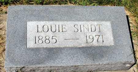 SINDT, LOUIE - Ida County, Iowa | LOUIE SINDT