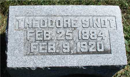 SINDT, THEODORE - Ida County, Iowa | THEODORE SINDT