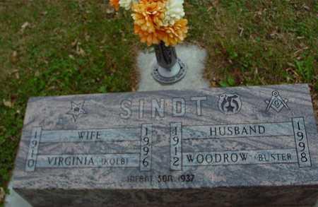 SINDT, WOODROW & VIRGINIA - Ida County, Iowa | WOODROW & VIRGINIA SINDT