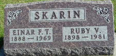 SKARIN, EINAR & RUBY - Ida County, Iowa | EINAR & RUBY SKARIN