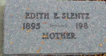 SLENTZ, EDITH E. - Ida County, Iowa | EDITH E. SLENTZ