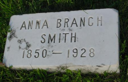 BRANCH SMITH, ANNA - Ida County, Iowa | ANNA BRANCH SMITH