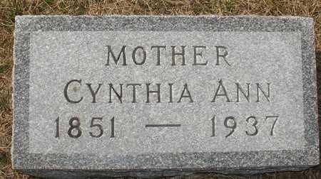 SMITH, CYNTHIA ANN - Ida County, Iowa | CYNTHIA ANN SMITH